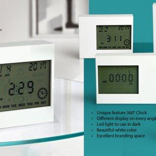 Personalized 4 Way Clock