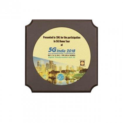 Personalized 5G India Award Memento