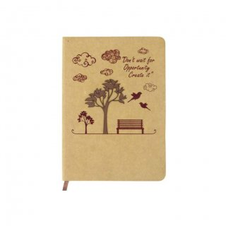 Personalized A5 Notebook (Craft Paper)