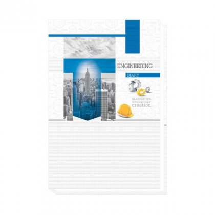 Personalized A5 Planner Engineer'S Diary - White