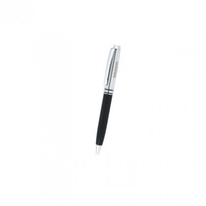 Personalized Aamzon.Com Black-Silver Metal Pen With Box