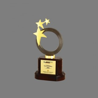 Personalized Absolute Travel Star Trophy