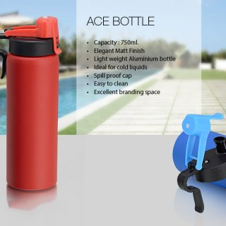 Personalized Ace Aluminium Bottle (750 Ml)