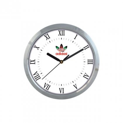 "Personalized Adidas Wall Clock (9"" Dia)"
