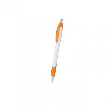 Personalized Aerosweet White-Orange Promotional Pen