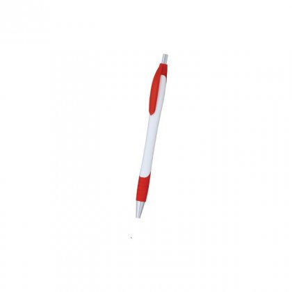 Personalized Aerosweet White-Red Promotional Pen