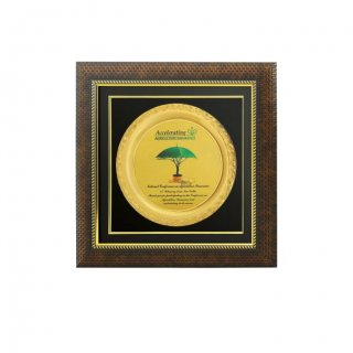 Personalized Agriculture Insurance Award Memento