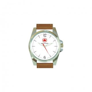 Personalized Air Canada Matte Finish Box Wrist Watch