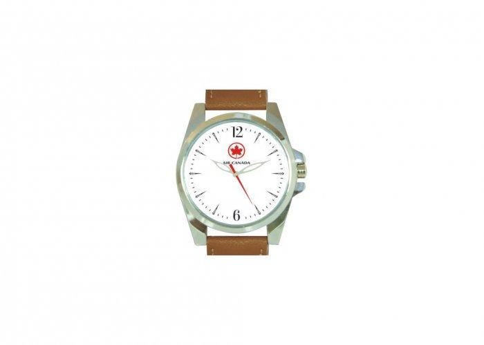 Personalized Air Canada Matte Finish Box Wrist Watch In Delhi