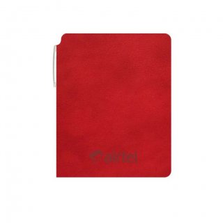 Personalized Airtel A5 Notebook (Red)