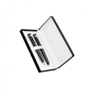 Personalized Alcatel Black Pen Set With Box