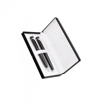 Personalized Alcatel Black Pen Set With Box