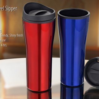 Personalized Alpha Colored Sipper (500Ml)