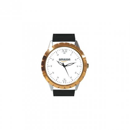 Personalized Amazon Matte Finish Box Wrist Watch