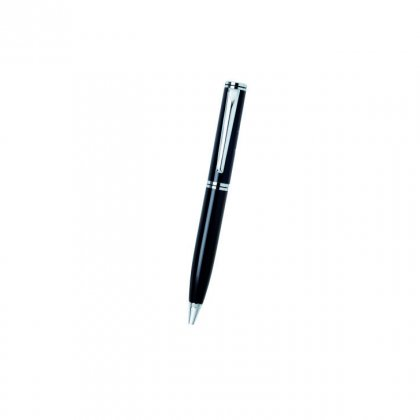 Personalized American Financial Black-Silver Metal Pen With Box