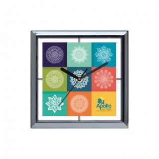 "Personalized Apollo Hospitals Wall Clock (10.5""X10.5"")"