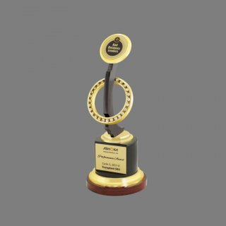 Personalized Ashoka Buildcon Trophy