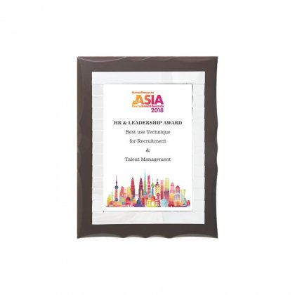 "Personalized Asia 2018 Printing Size Memento (3.5""X6"")"