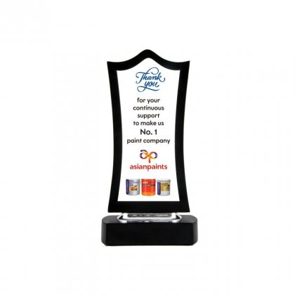 """Personalized Asian Paints Printing Size Trophy (6""""X2"""")"""