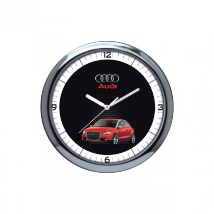 "Personalized Audi Wall Clock (10"" Dia)"