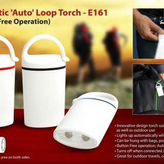 Personalized auto loop torch: magnetic, button free operation