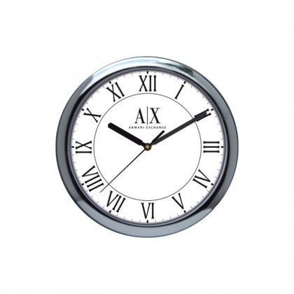 "Personalized Ax Armani Wall Clock (10"" Dia)"