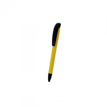 Personalized Banque Nationale Yellow-Black Promotional Pen