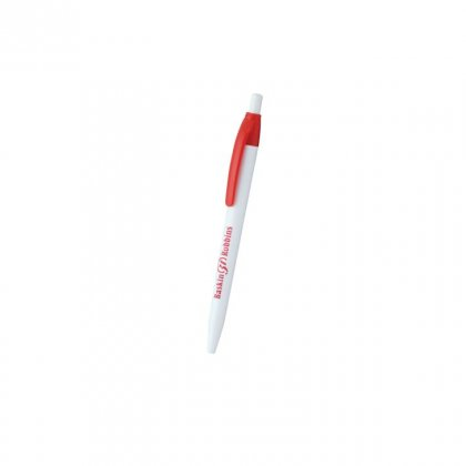 Personalized Baskin 31 Robbins White-Red Promotional Pen
