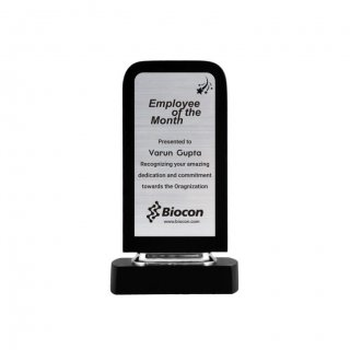 "Personalized Biocon Engraving Area Trophy (2.5""X5.5"")"