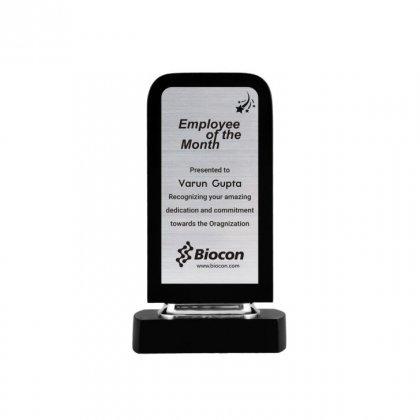 "Personalized Biocon Engraving Area Trophy (2.5""X5.5"")"