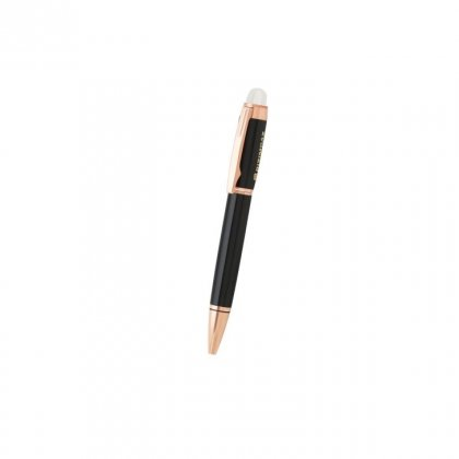 Personalized Bizimgaz Black-Copper Metal Pen With Box