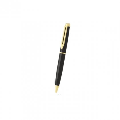 Personalized Black Dog Black-Golden Metal Pen With Box