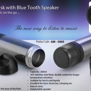 Personalized Bluetooth Speaker Flask (360 Ml)
