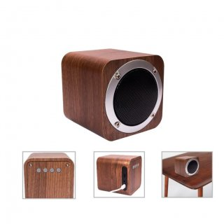 Personalized Bluetooth Speaker (R H Y T H M - Vintage) / Brown