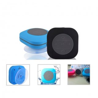 Personalized Bluetooth Speakers (R H Y T H M - Mist 2.0) / Blue, Black