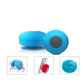 Personalized Bluetooth Speakers (R H Y T H M - Mist) / Blue, Black