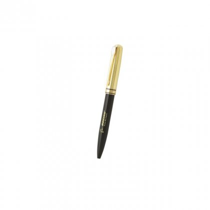 Personalized Boieng Black-Golden Metal Pen With Box