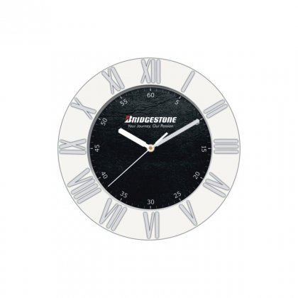 "Personalized Bridgestone Wall Clock (7"" Dia)"