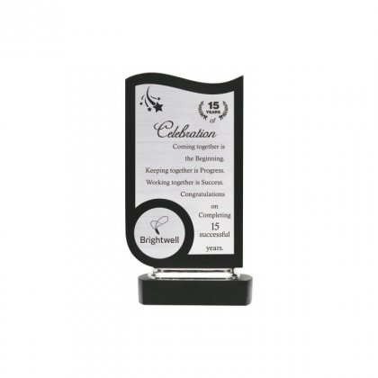 "Personalized Brightwell Engraving Area Memento (3.75""X4"")"