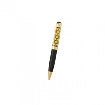 Personalized Cadillac Black-Golden Metal Pen With Box