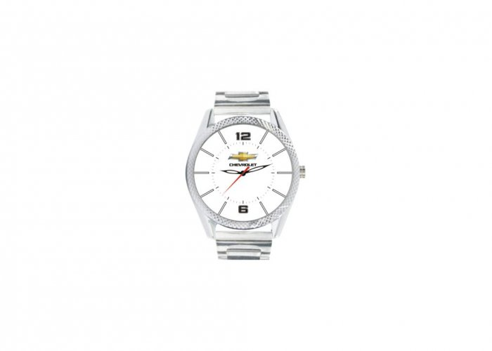 Personalized Chevrolet Matte Finish Box Wrist Watch In Delhi