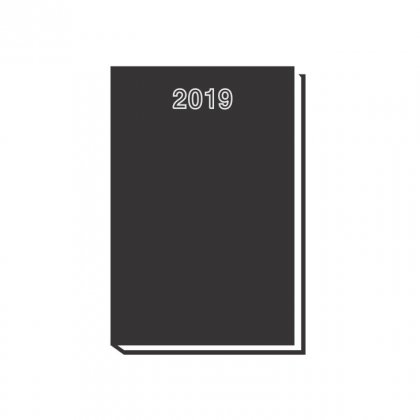 Personalized Chief Diary (Black)