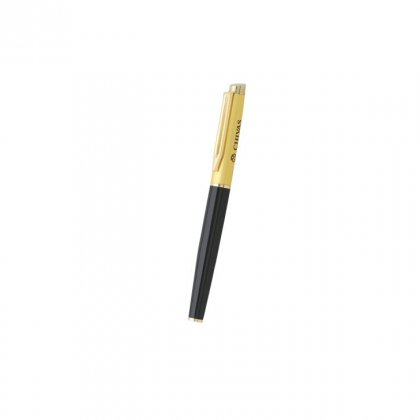 Personalized Chivas Black-Yellow Metal Pen With Box