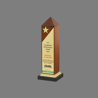Personalized Cintas Star Award Star Trophy
