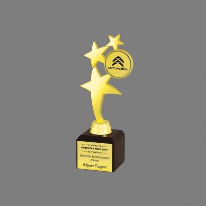 Personalized Citeron Star Award Star Trophy