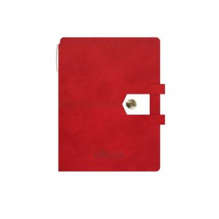 Personalized Citibank A5 Notebook (Red)