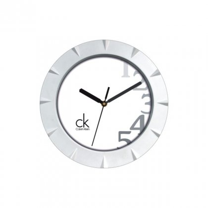 "Personalized Ck Wall Clock (7.75"" Dia)"