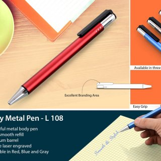 Personalized classy metal pen