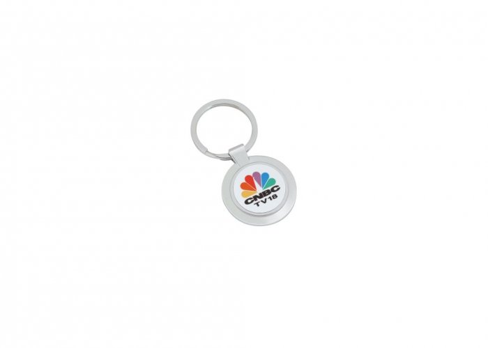 Personalized Cnbc Tv-18 Keychain