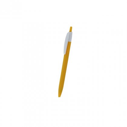 Personalized Comercial Mexicana Yellow Promotional Pen